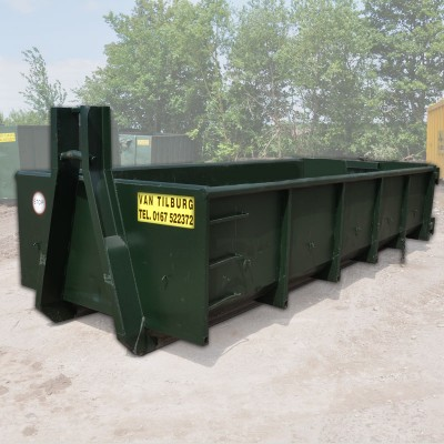 15m3 haak container