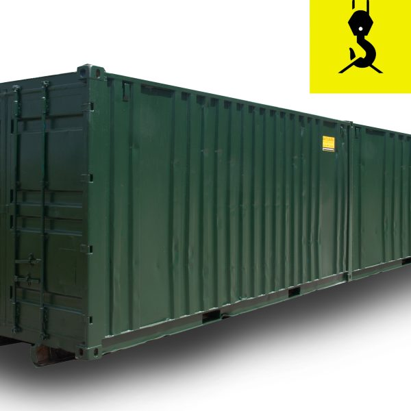 40ft opslagcontainer