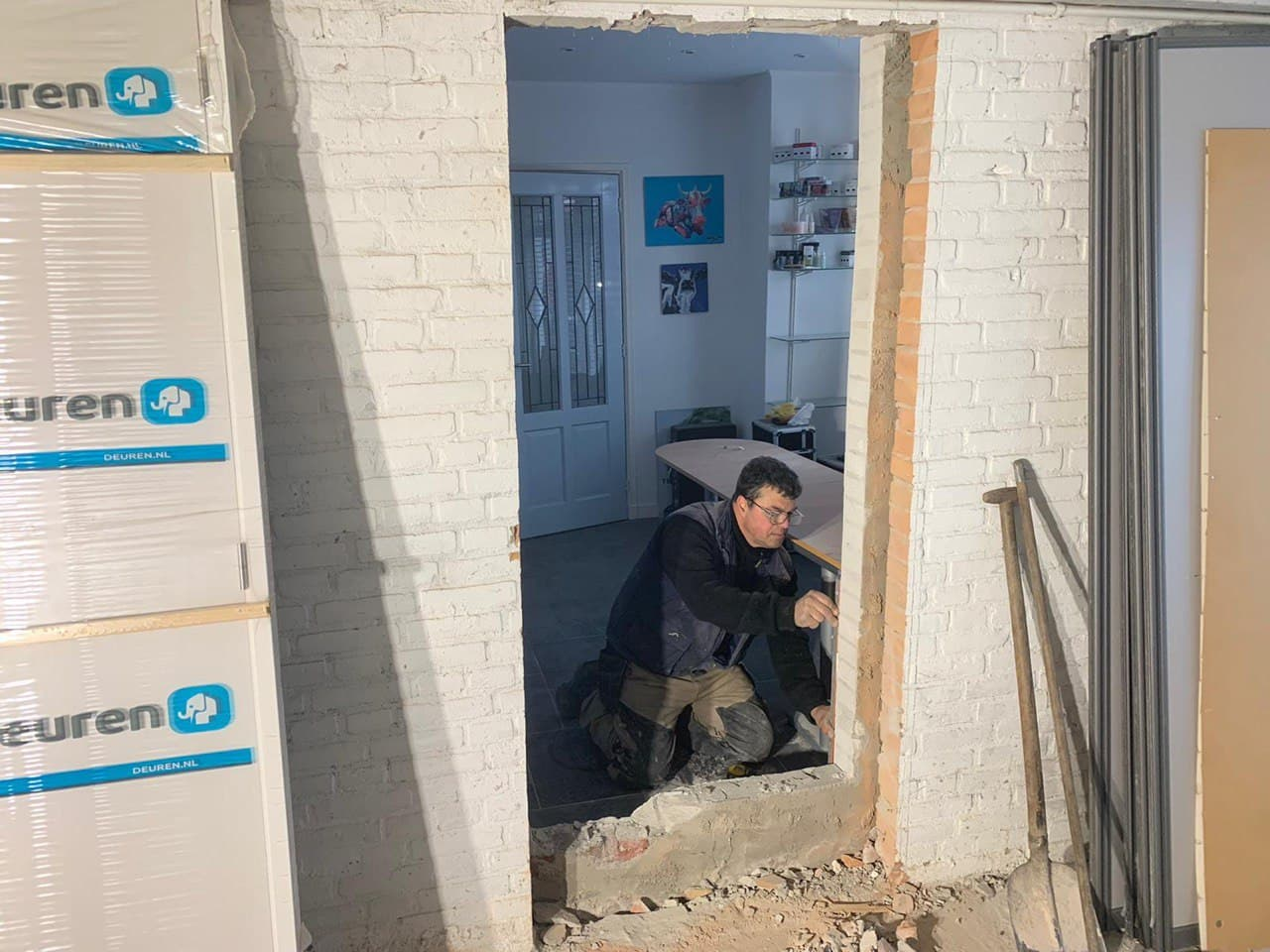 constructie deur